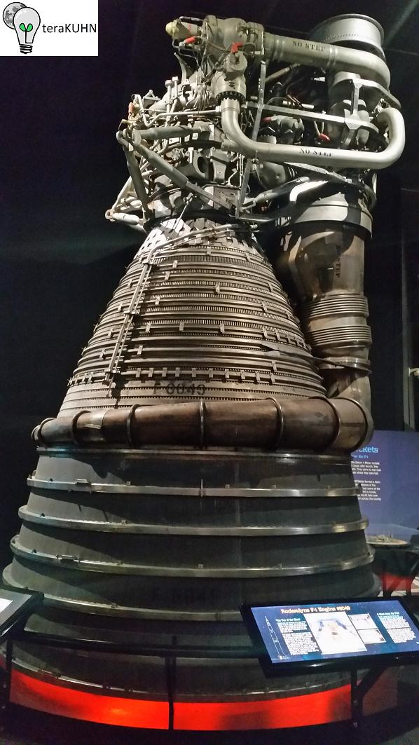 Rocketdyne F-1 rocket engine used by Saturn V S-1C first stage
