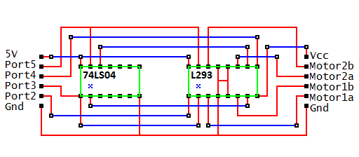 H-Bridge Motor Circuit