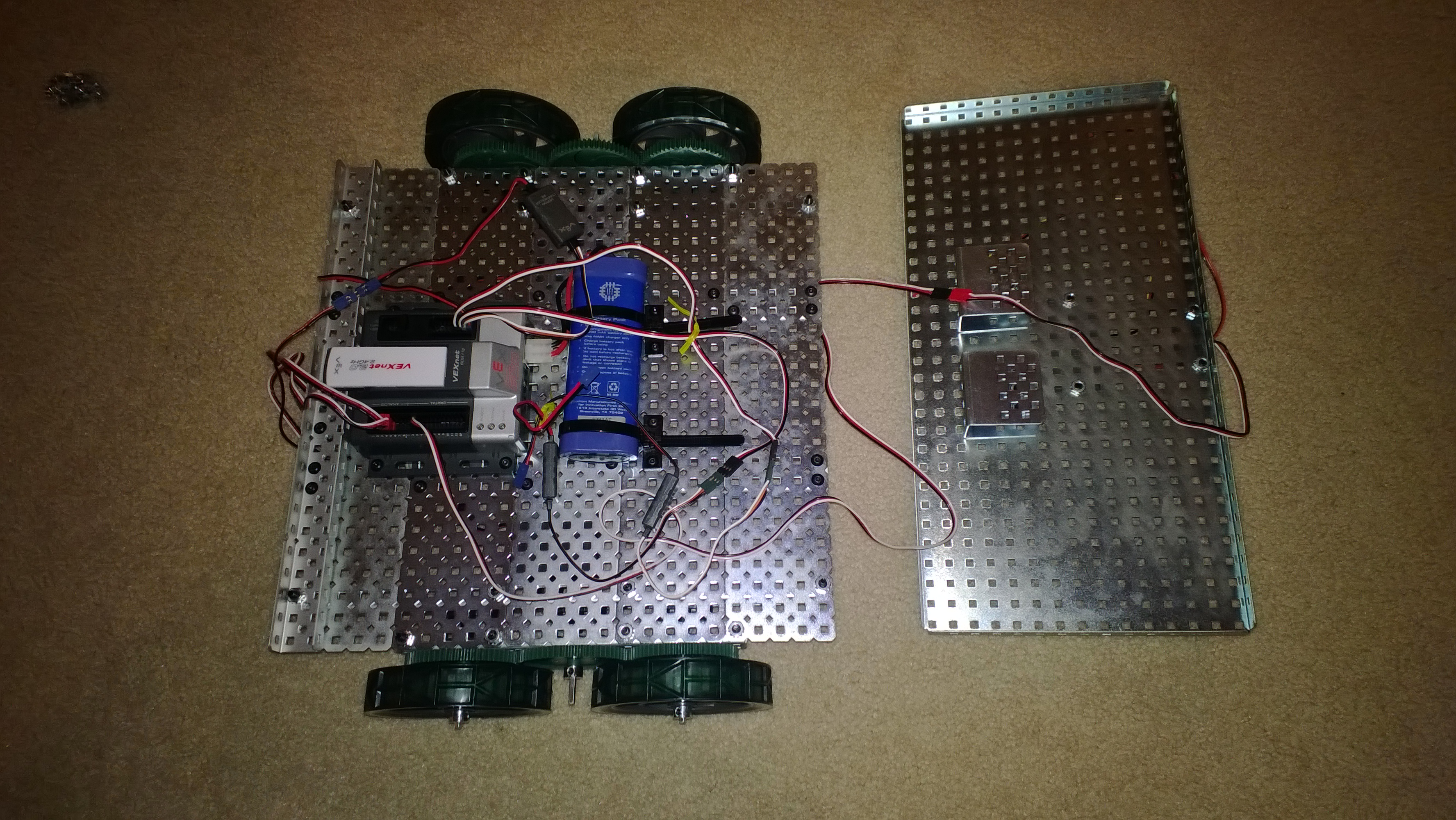 VEX Robot with Cortex